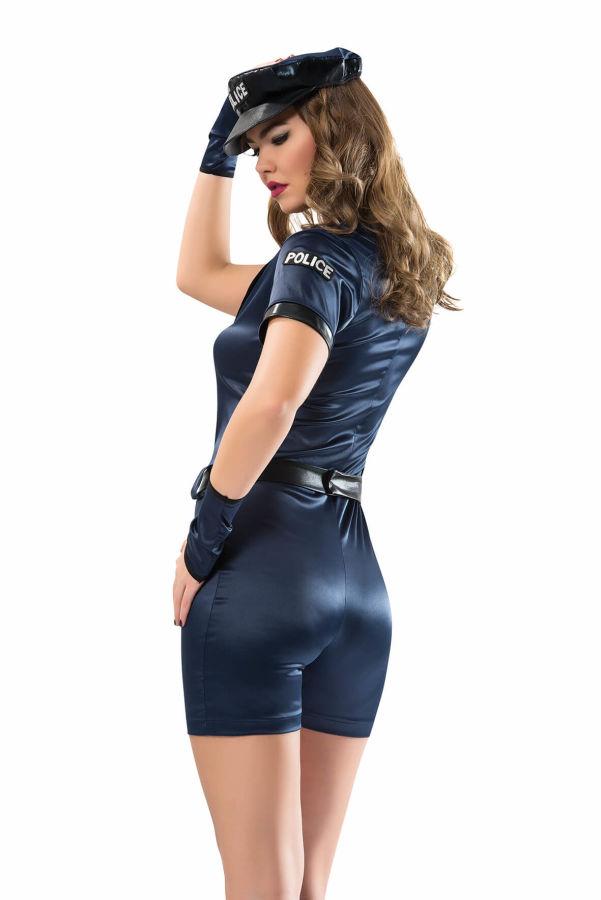 Polis Seksi Kostüm Modeli