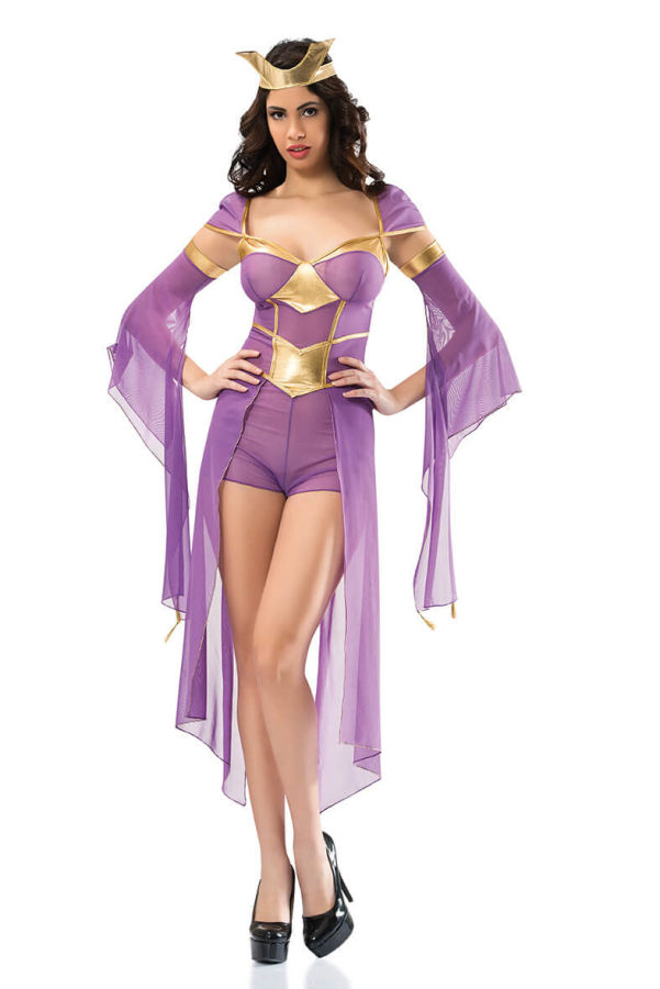 Savaşçı Kız Fantazi Kostümü