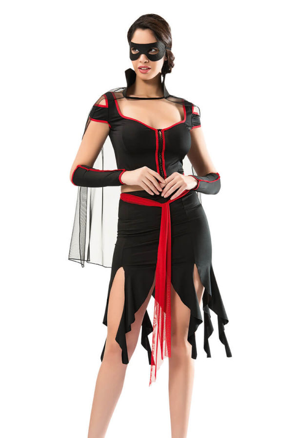 Zorro Fantazi Kostümü